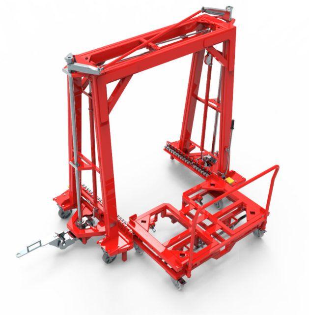 v-liner mechanical transport
