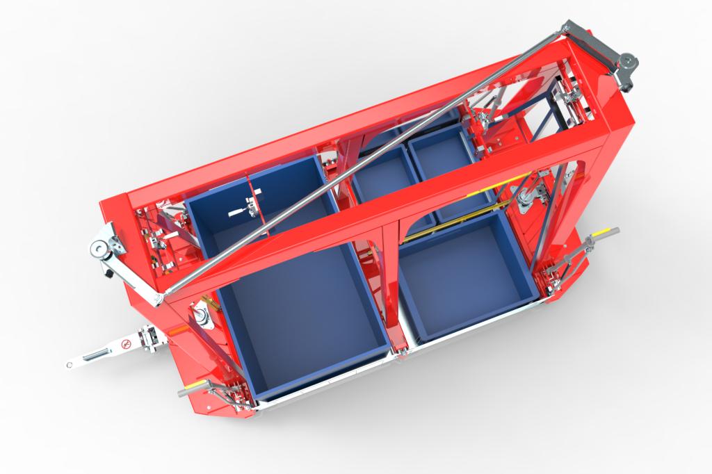 intralogistyka transport pojemników klt wamech